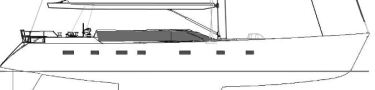 Motor-sailing yacht Project KA80